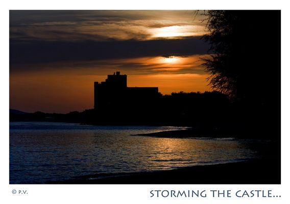 storming the castle...