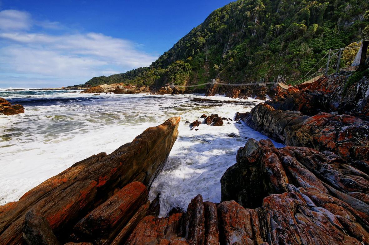 Storms River Brücken - Südafrika