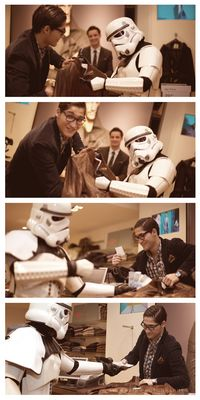 Stormtrooper Shopping Tour