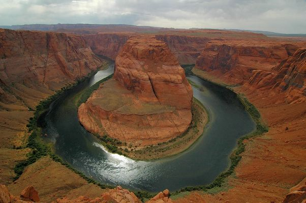 Stormy Horseshoe Bend