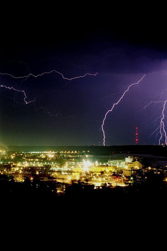 Stormy stormy night