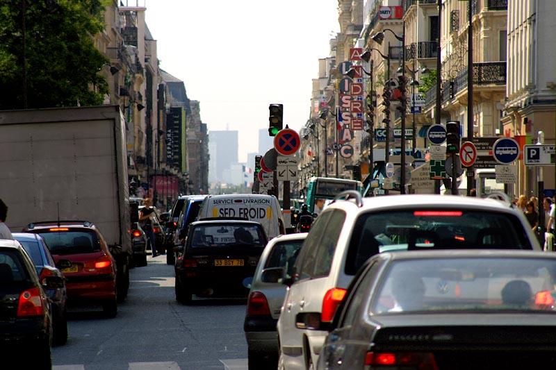 Stosszeit in Paris