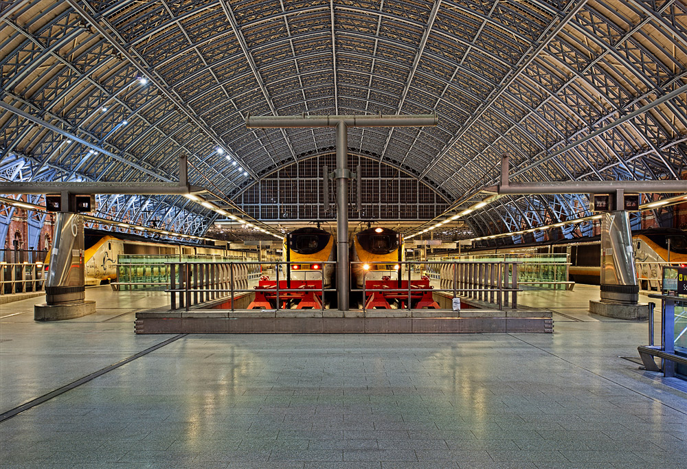 St.Pancras Station in London