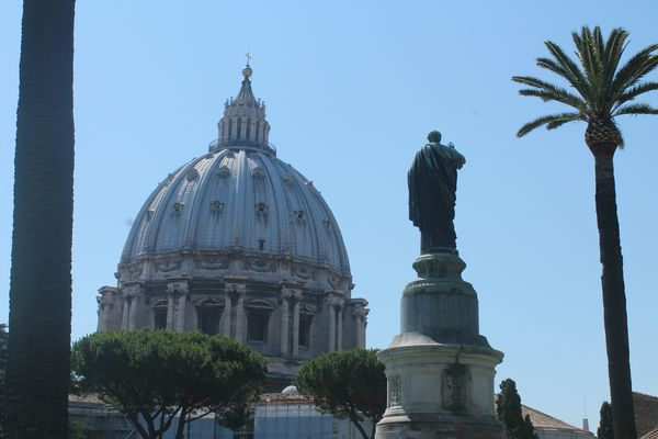 St.Peter looking