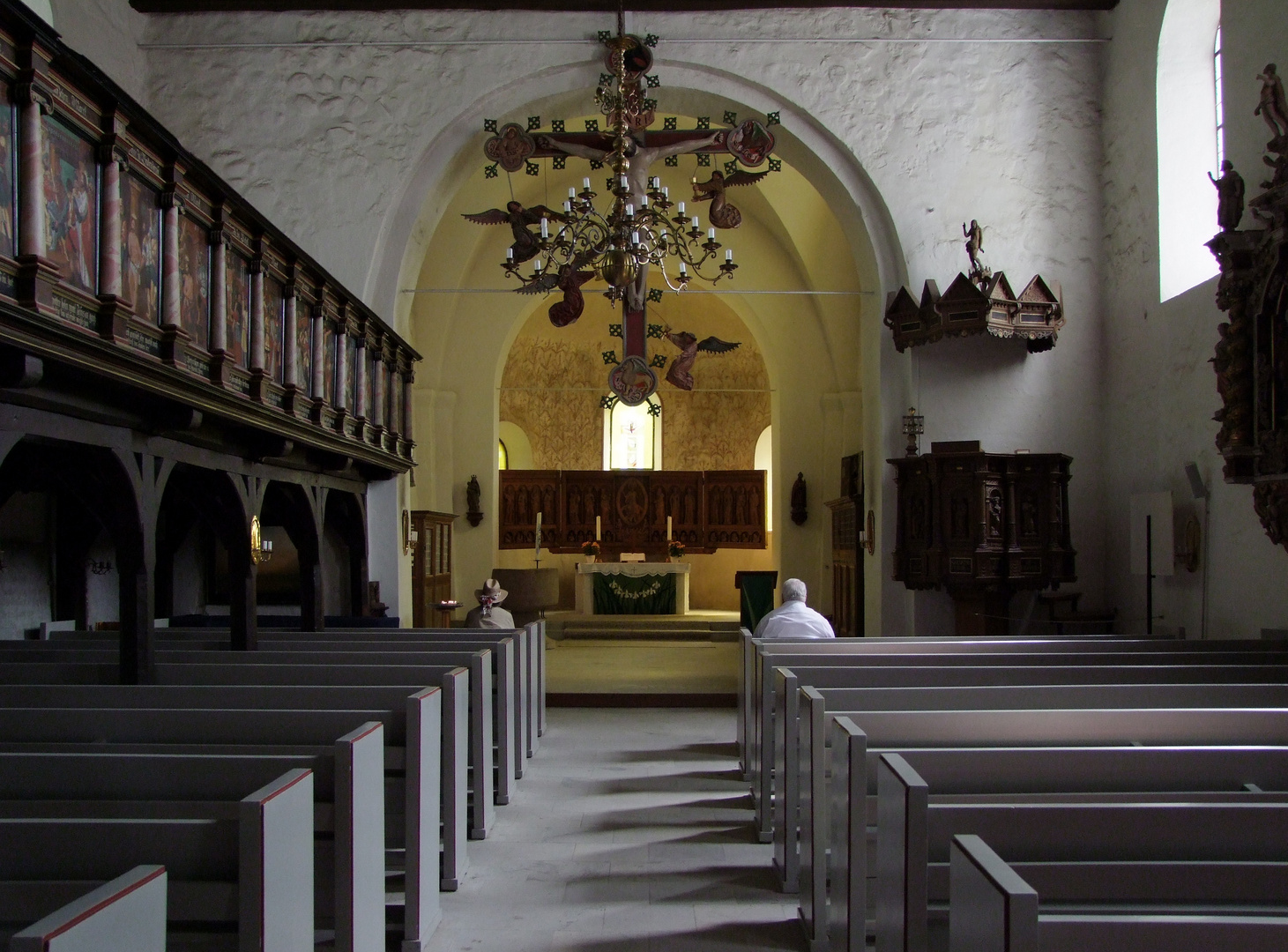 St.Petri Kirche Innenansicht