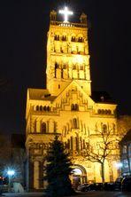 St.Quirinuskirche am 24.12.2012 um Mitternacht in Neuss