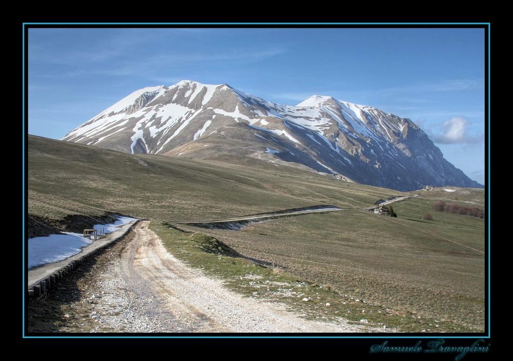 Strada montana.