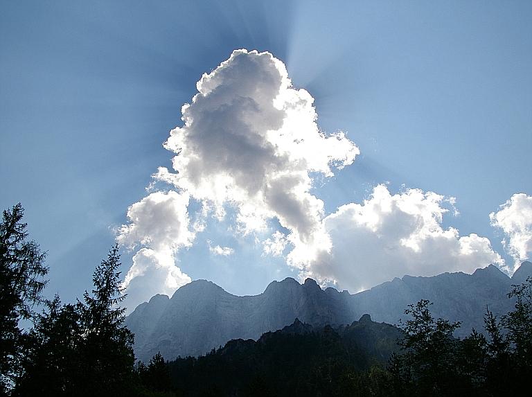 Strahlend Wolken..........Im Gesäuse, Steiermark