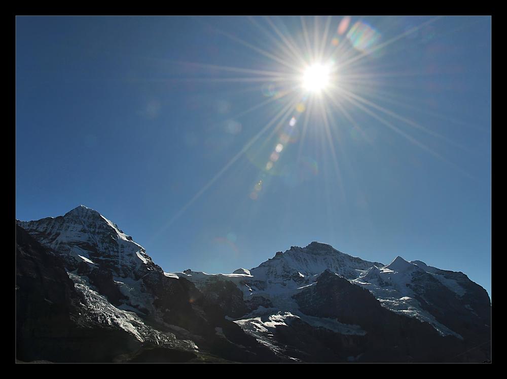 ...strahlende bergwelt...