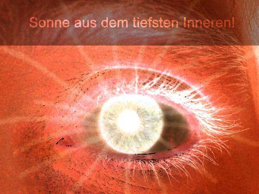Strahlender Blick