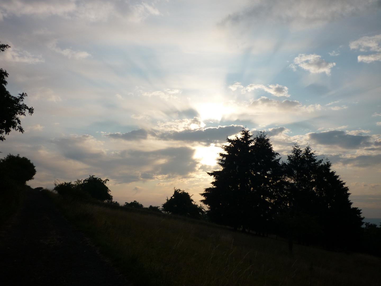 strahlender Himmel II