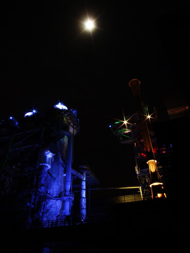 strahlender Mond