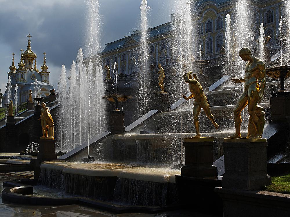 Strahlender Peterhof