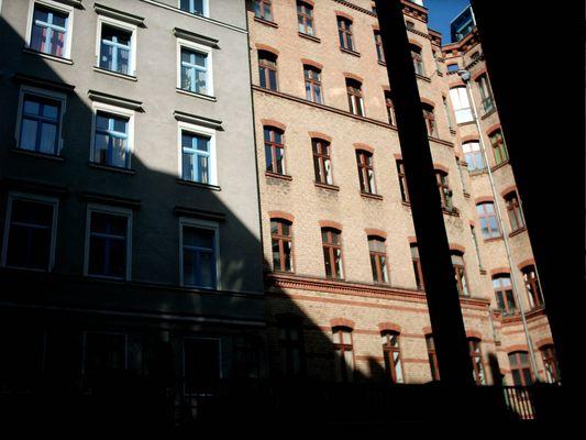 Strahlender Sonnenschein in Kreuzberg