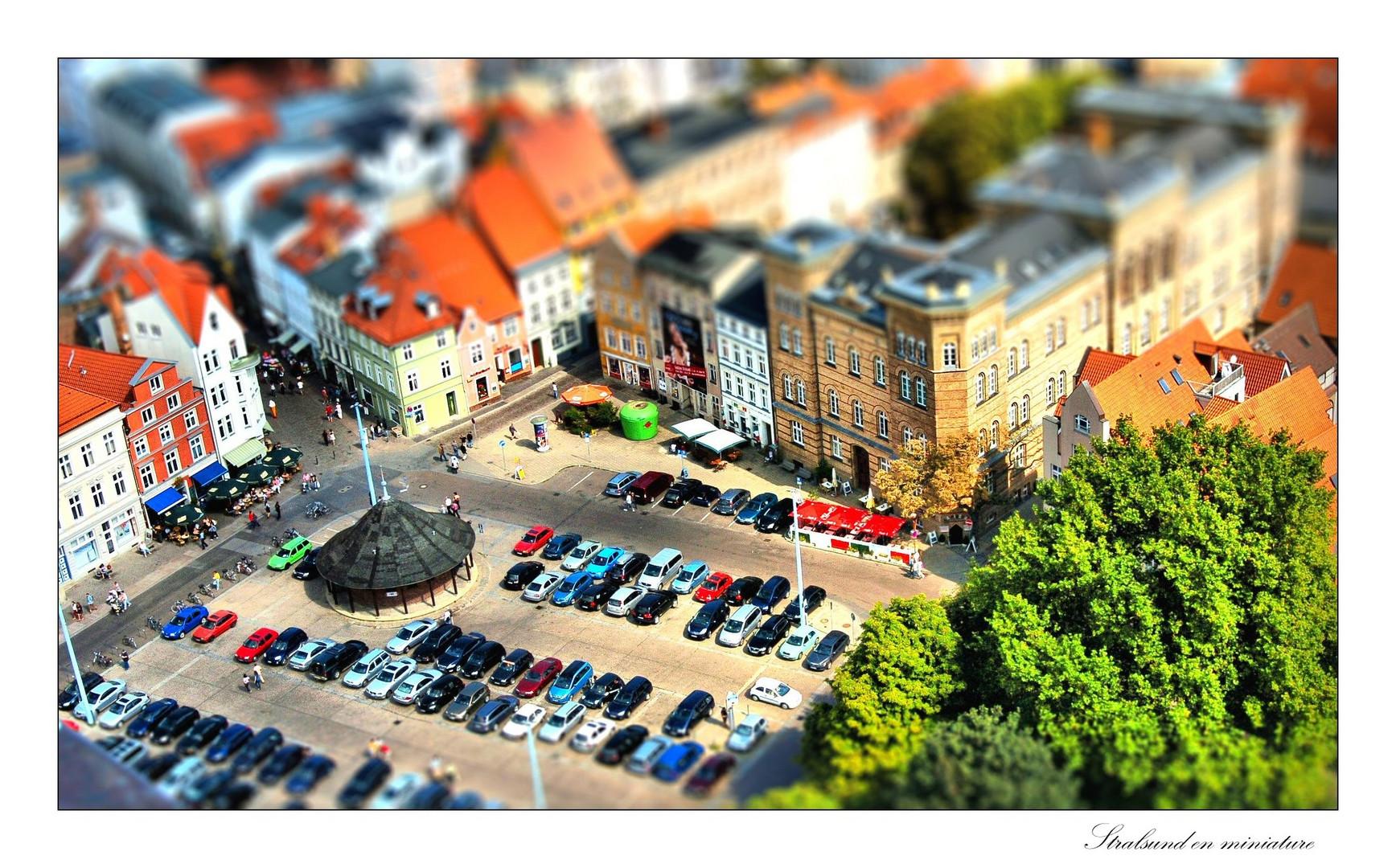 Stralsund en miniature