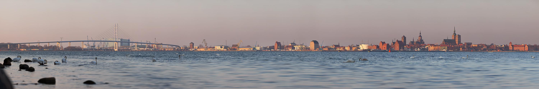 Stralsund im Morgengrauen