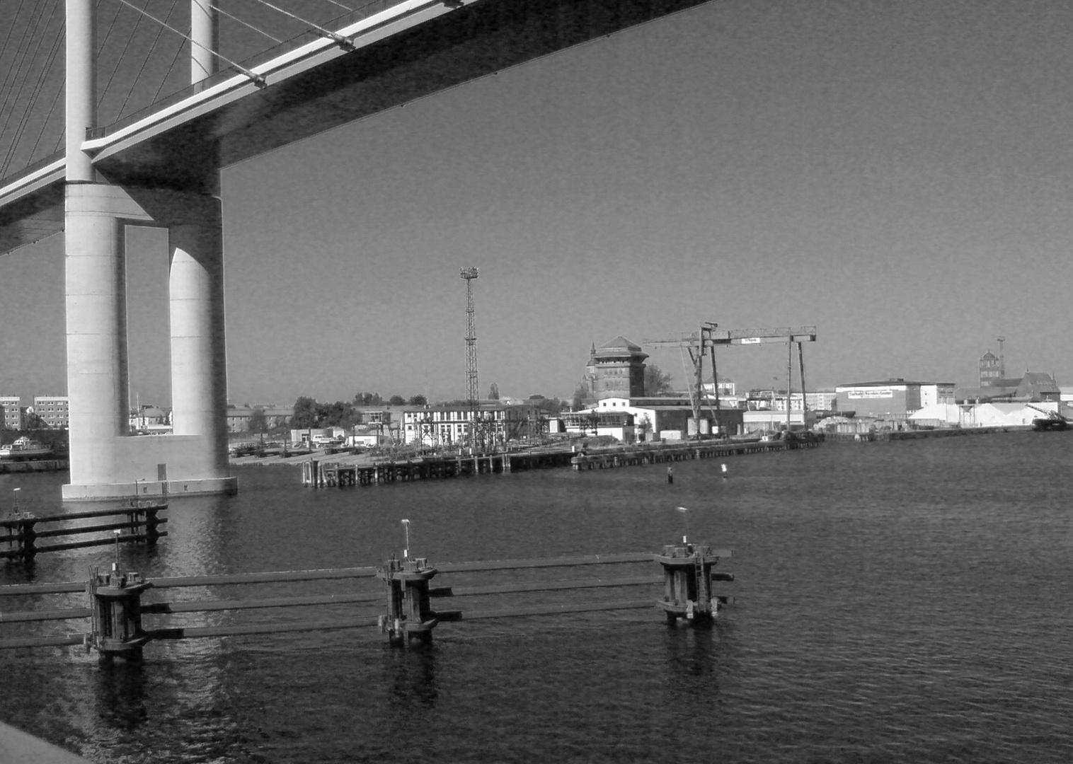 Stralsund Ostsee Autobahnbrücke