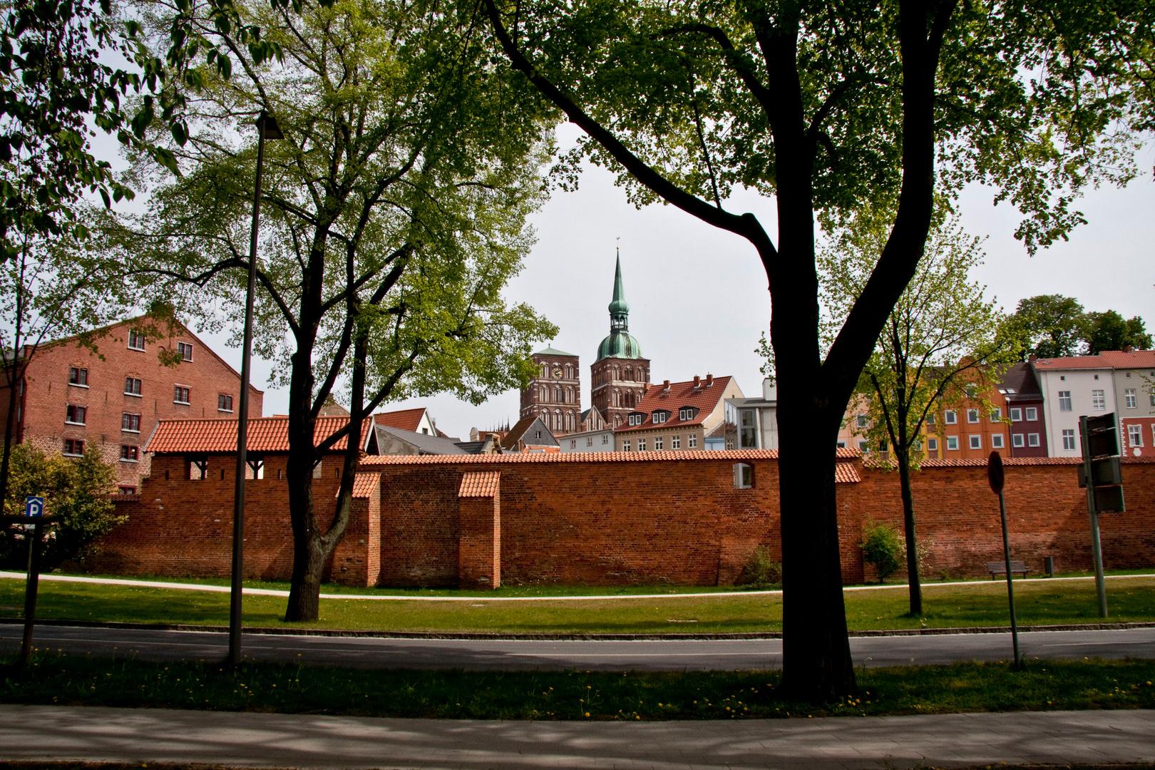 Stralsund Stadtmauer
