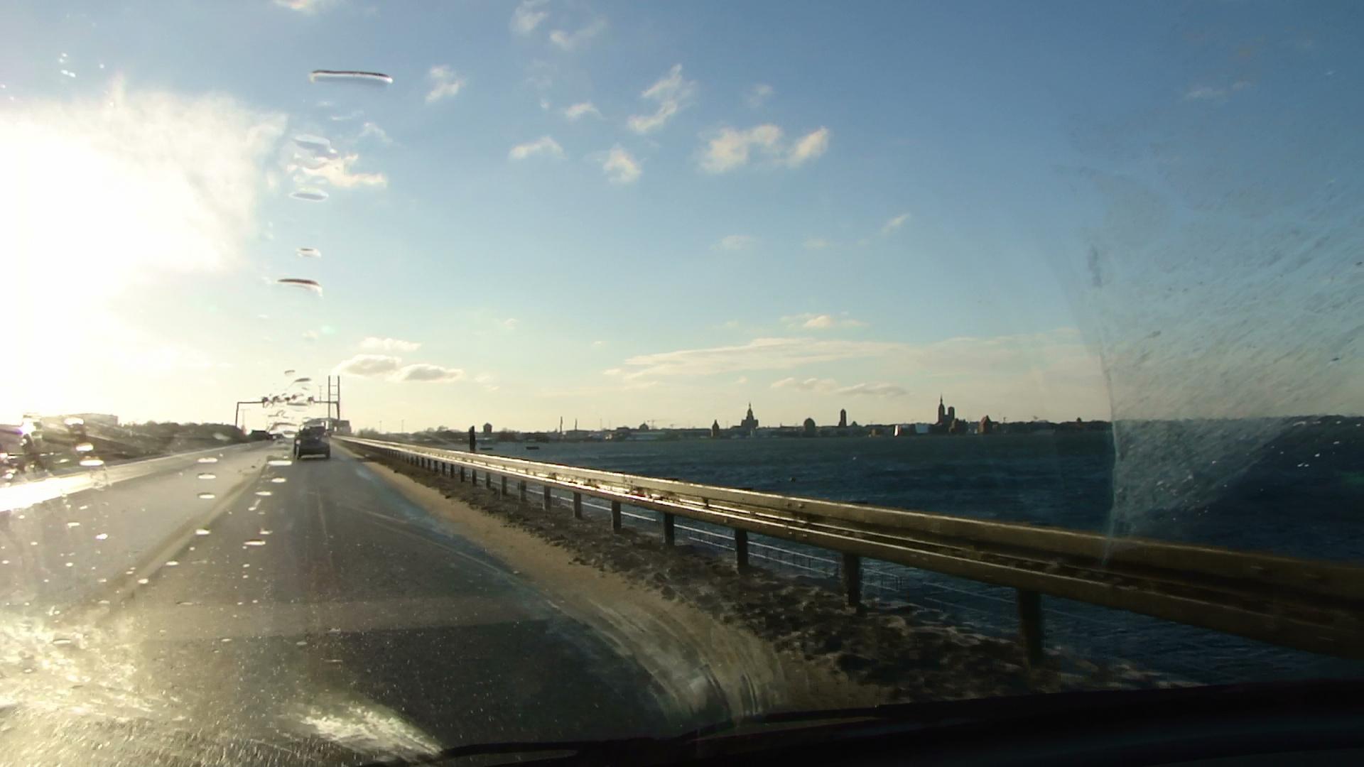 Stralsund vom Rügendamm
