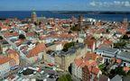 Stralsund von oben de Robert Ott