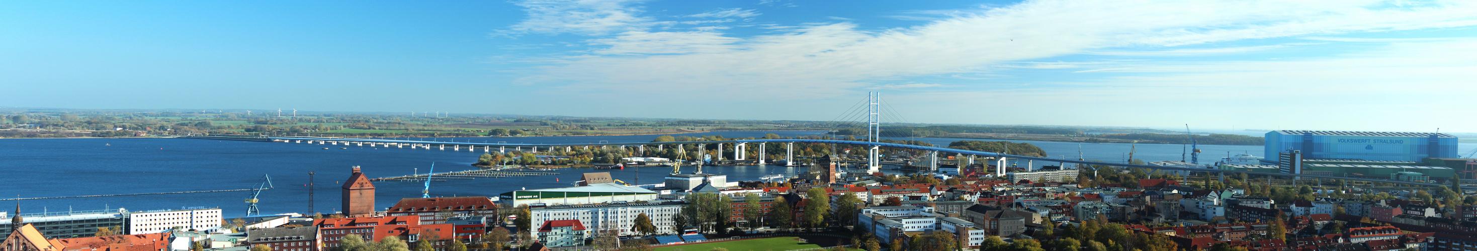 Stralsunds neue verbindung nach Rügen