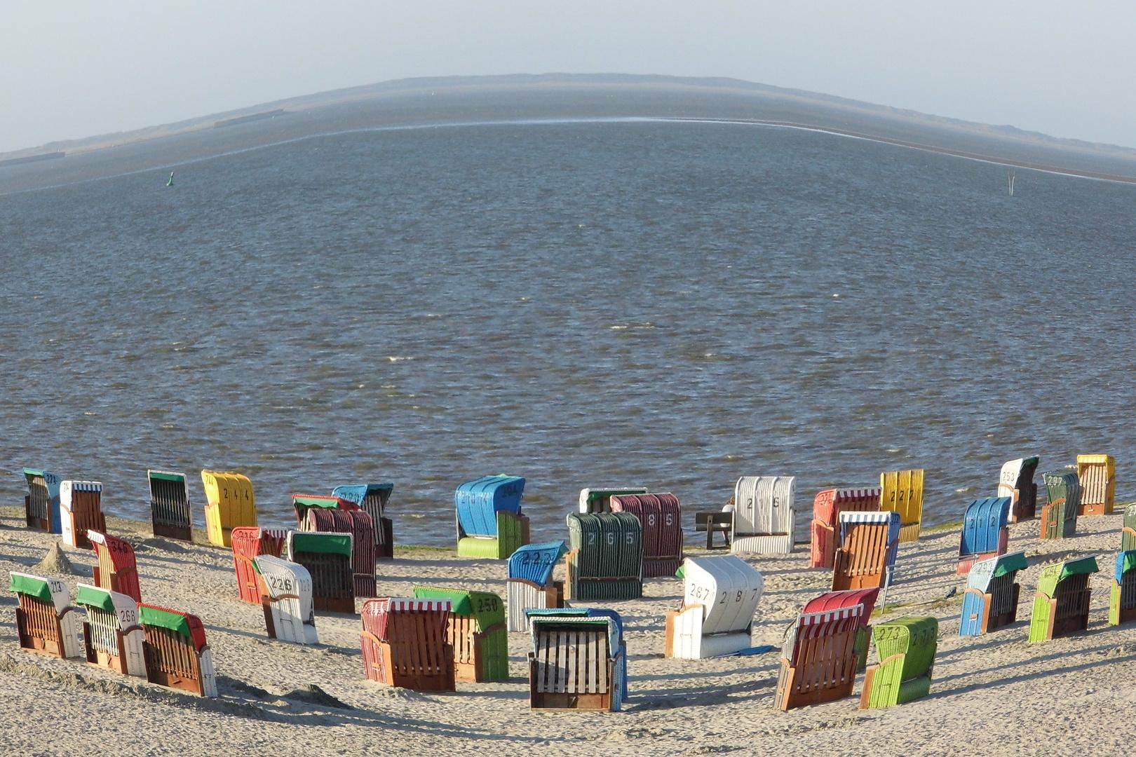 Strand am Dornumersiel