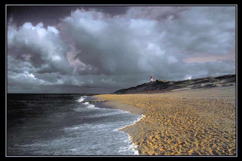 Strand am Lister Ellebogen-Sylt