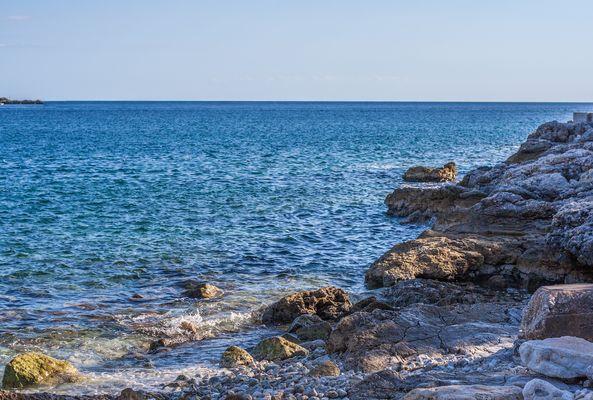 Strand am Mittelmeer!