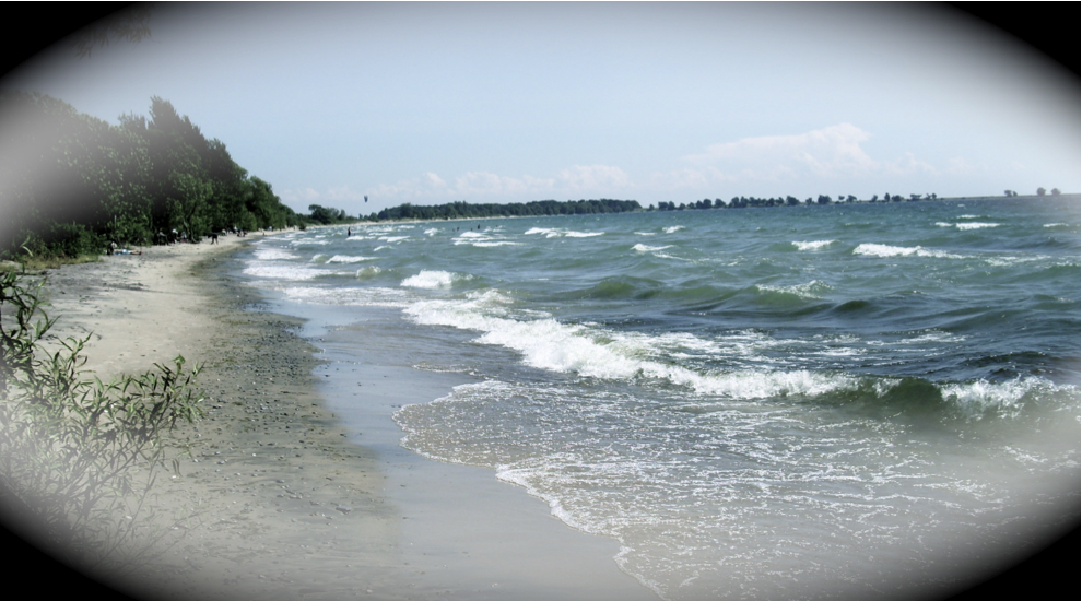 Strand am Ontario-See