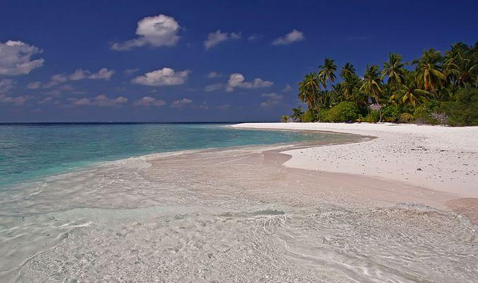 Strand auf Filitheyo