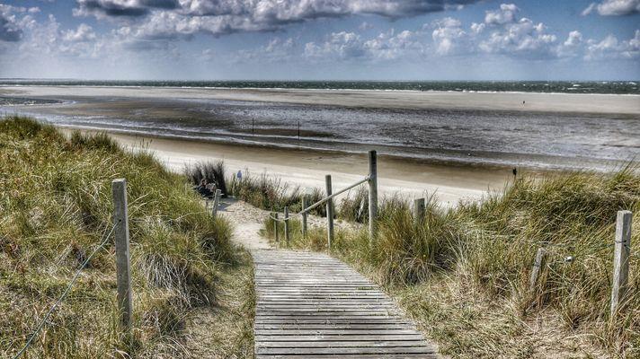 Strand auf Spiekeroog 2