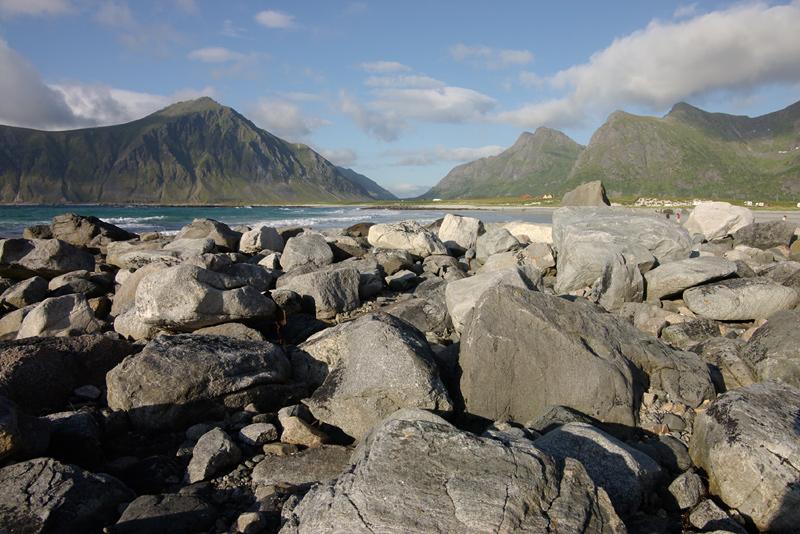 Strand auf Vestvågoy