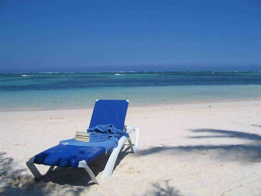 Strand Barcela Bavaro Palace: Ein schöner breiter leerer Strand
