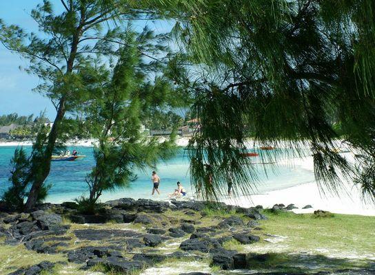 Strand bei Belle Mare, Mauritius