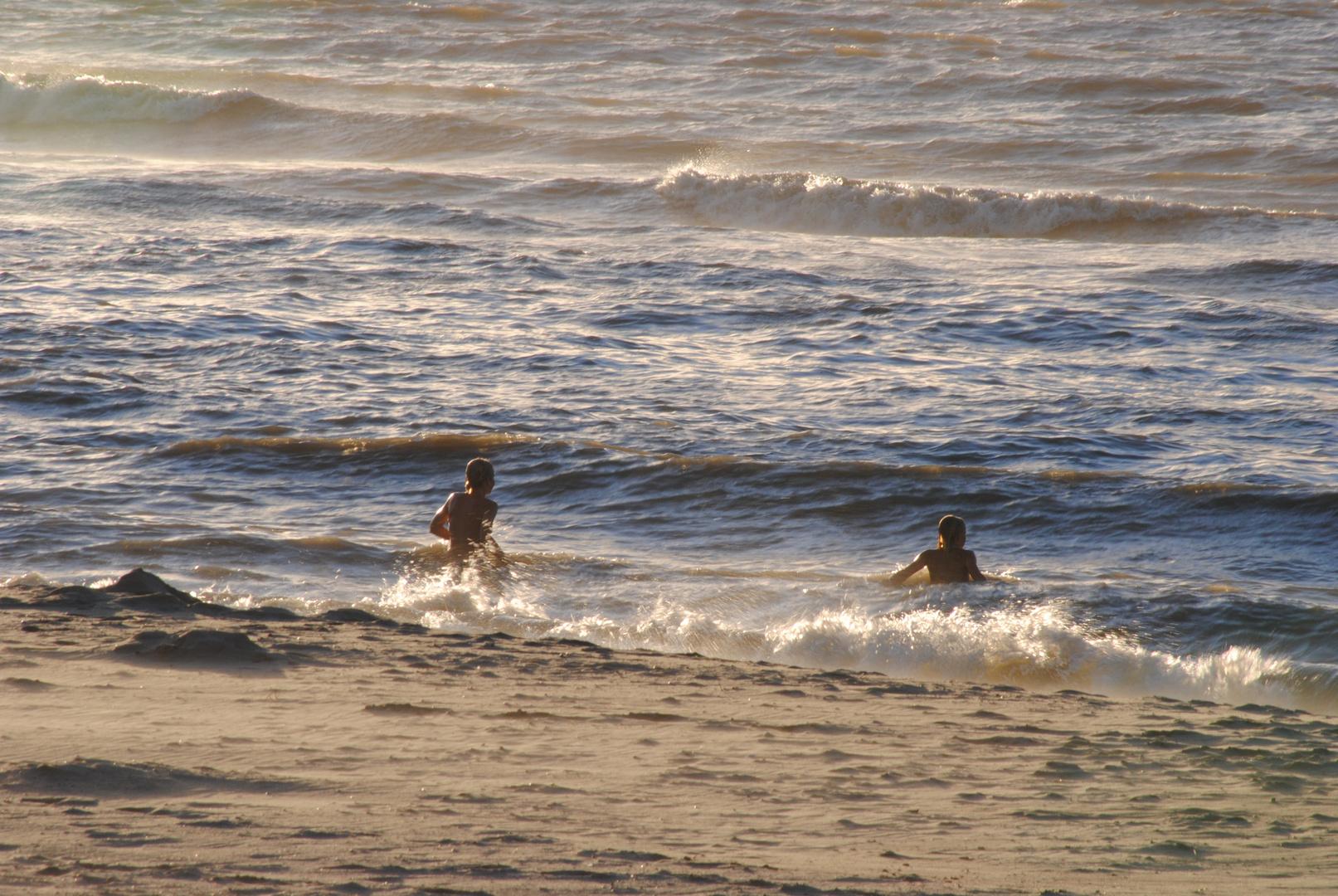 Strand bei Cadzand Holland