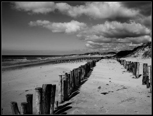 Strand bei Camiers Sur Mer