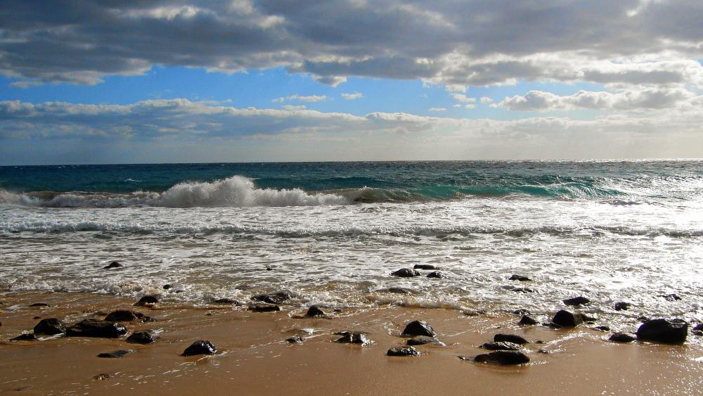 Strand bei Esquinzo auf Fuerteventura