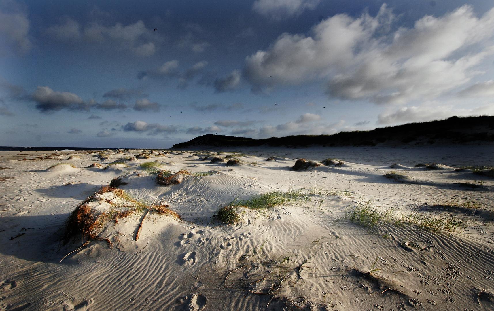 Strand bei Hörnum