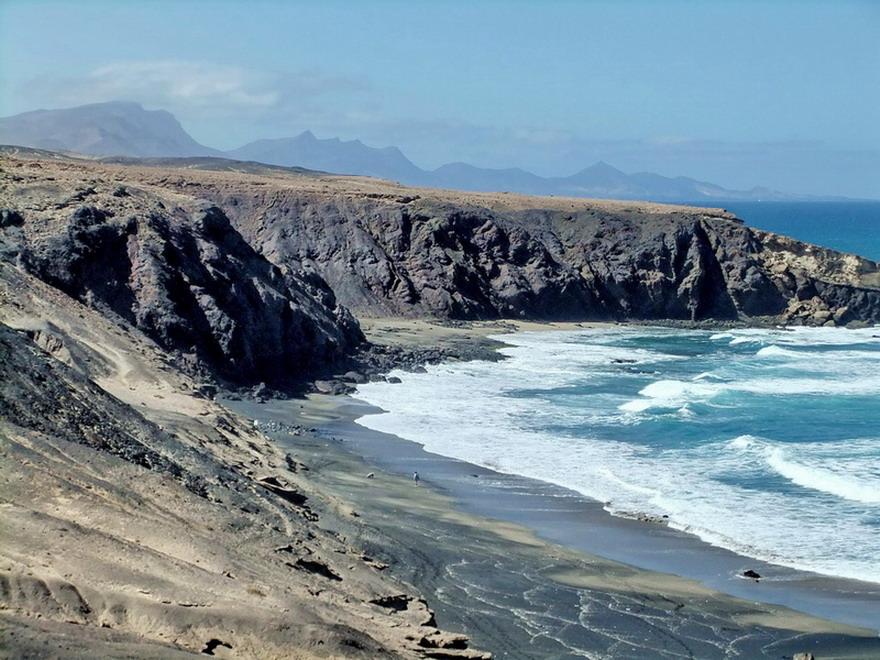 Strand bei -La Pared- Westküste
