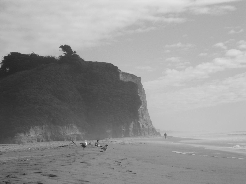 Strand der Route No 1 -Westküste USA
