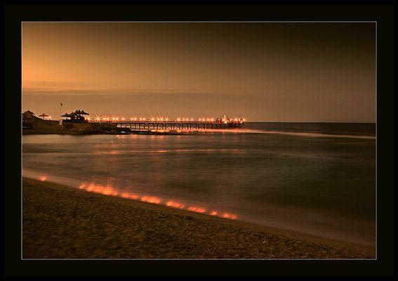 Strand des Akassia Swiss Resort in Ägypten (bei El Quesir)