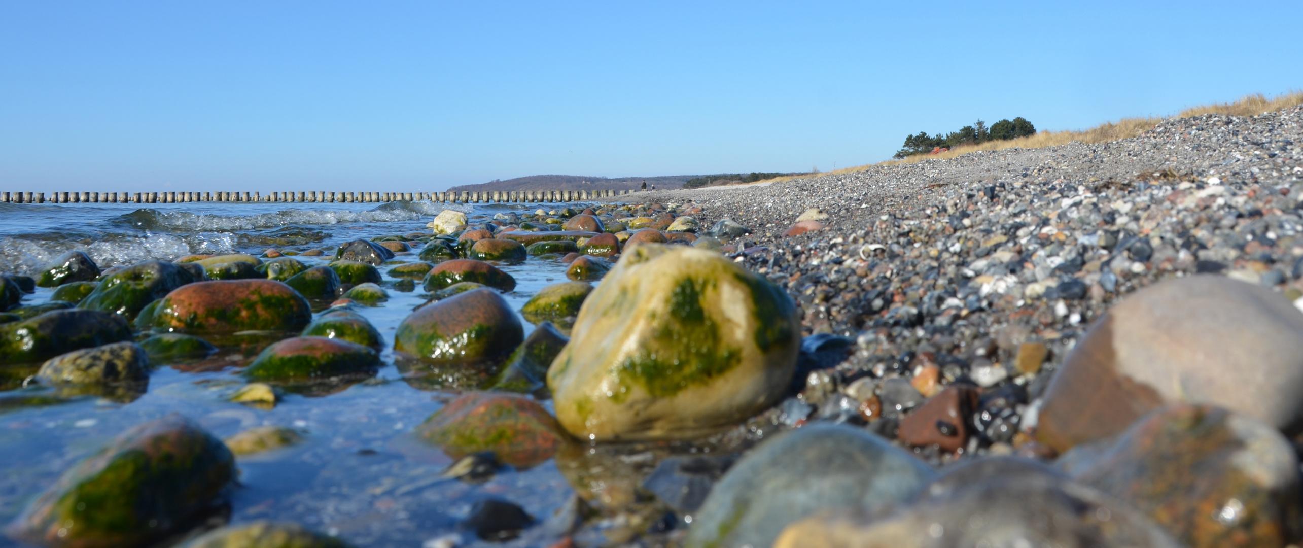 Strand im April