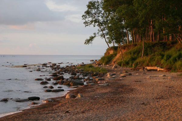 Strand-im-Streiflicht