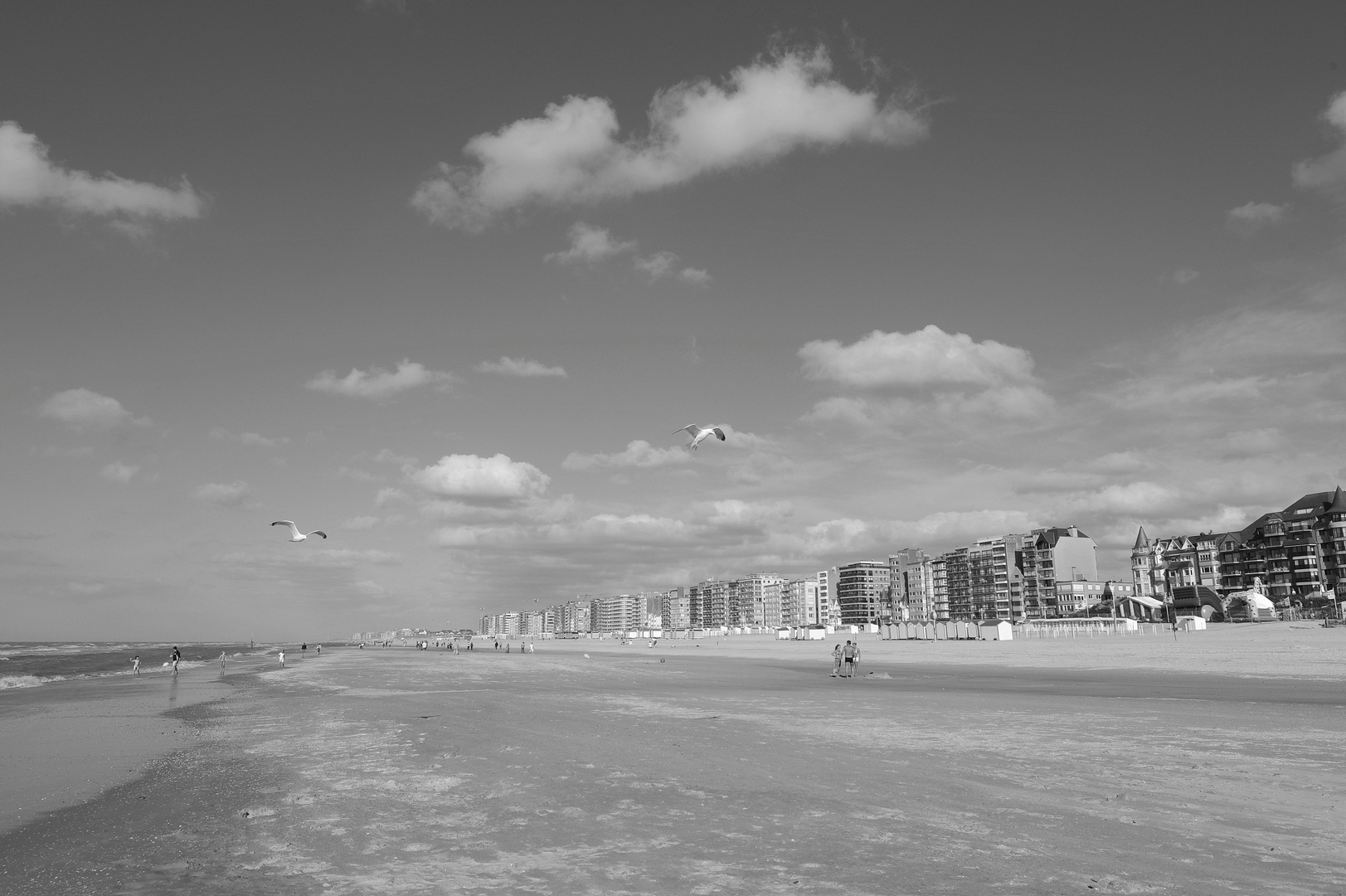 Strand in Belgien Depanne