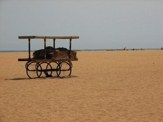Strand in Chennai__Chennai Beach