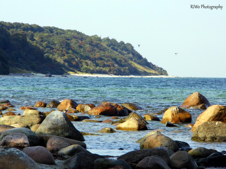 Strand in der Nähe von Kap Arkona