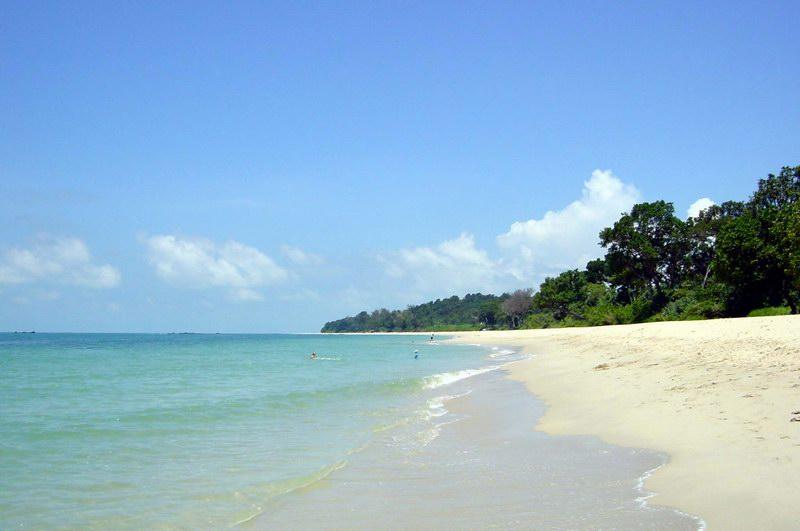 Strand in Desaru (Malaysia)