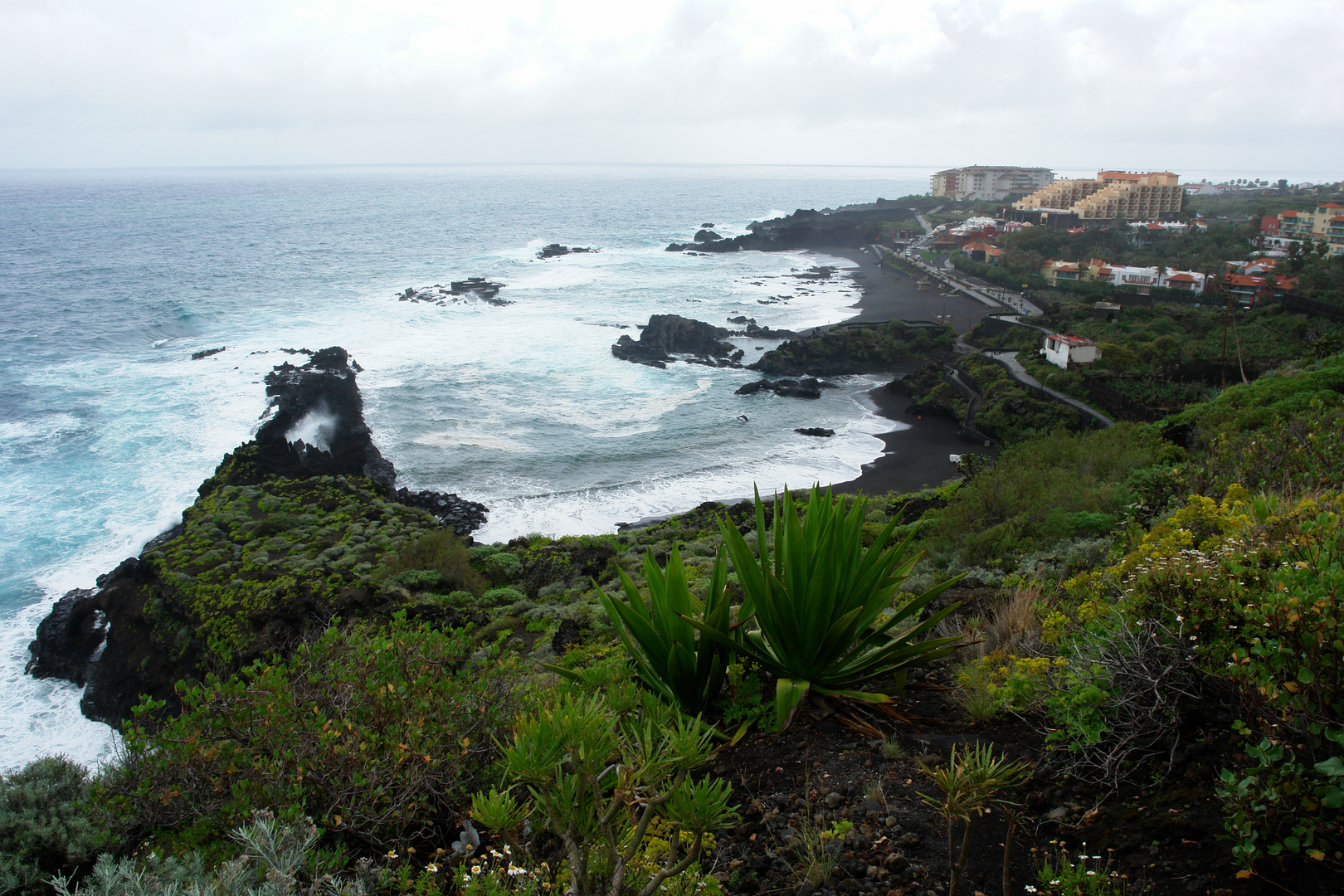 Strand in La Palma Los Cancajos