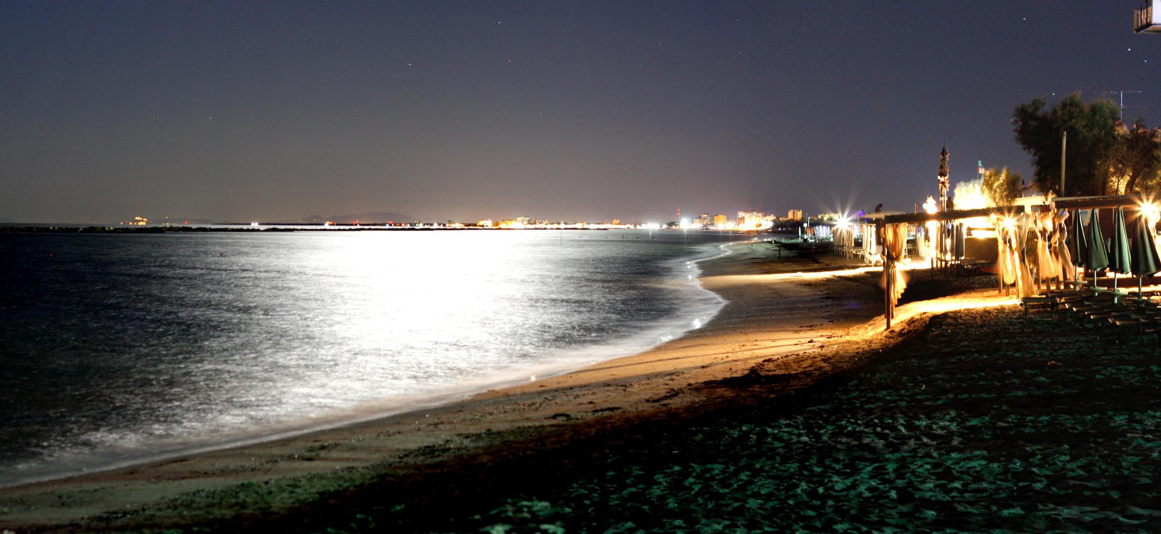 Strand in Lido del Nazioni