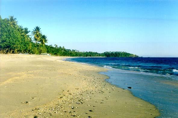 Strand in Lombok